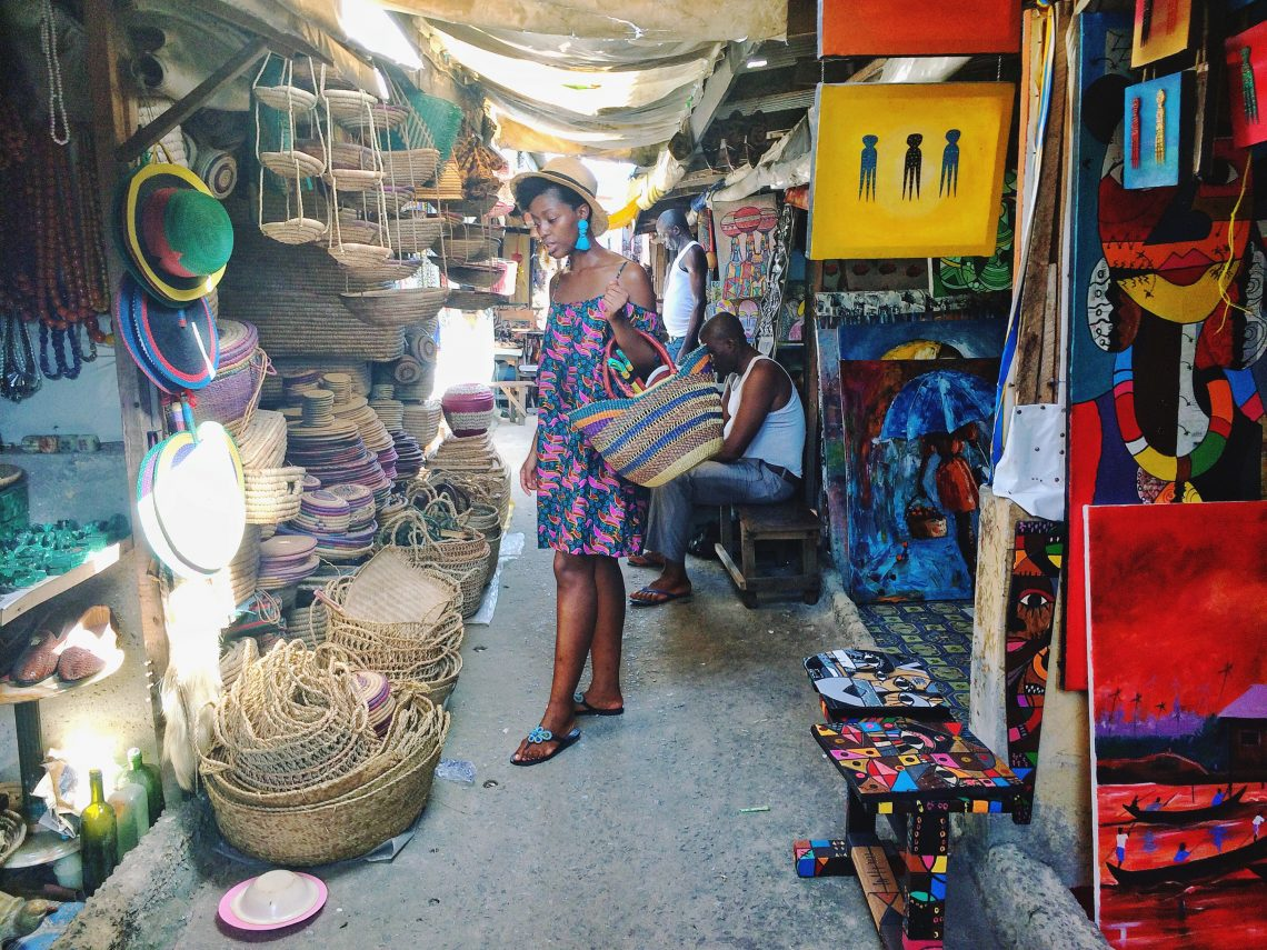 I posted about Lekki Arts   Crafts Market HERE when I first moved back to  Nigeria and my love for the market has not diminished  if anything 14557a842ddcb